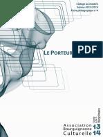 Le Porteur d'histoire Dossier Pédagogique - Association Bourguignonne Culturelle
