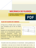 MECÁNICA DE FLUIDOS Novena y décima semana