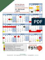 Propuesta Calendario Escolar Lectivo 2017-18