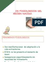 Feomenofisiologicos Del Recien Nacido