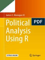 James E. Monogan III Auth. Political Analysis Using R