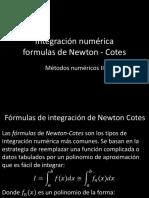 02 - Integración numerica