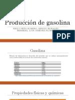 Producción de La Gasolina