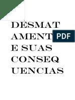 O DESMATAMENTO E SUAS CONSEQUENCIAS.docx