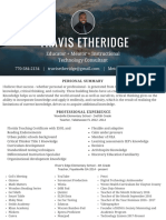 travis etheridge resume