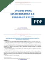 OK - Estudos Magistratura Do Trabalho e MPT- R