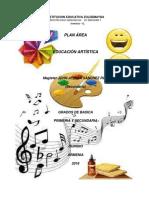Plan de Area Artistica 2016