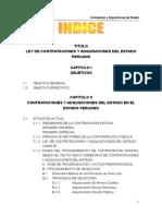 Contrataciones y Adquisiciones Del Estado Peruano