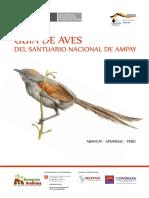Guía de Aves del Santuario Nacional de Ampay.pdf