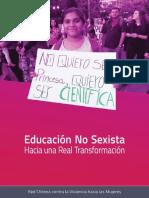 Educación NoSexista