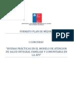 Plan de Mejora Buena Practica Penco