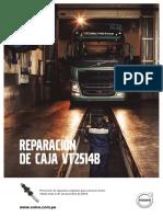 Reparación de Caja VT2514B