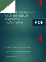 Curs 2 - Diagnosticul Prenatal
