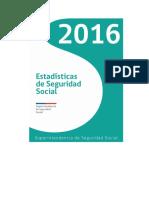 Estadísticas de La Seguridad Social 2016 Chile