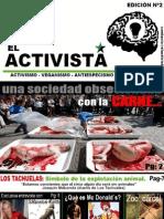Revista El Activista, Edicion Agosto