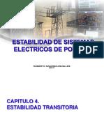 Estabilidad de sistemas eléctricos de potencia