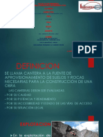 Exponer-canteras Geologia en Ayacucho