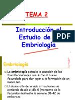 Tema 2. Embriología