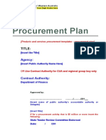 Gs Procurement Plan
