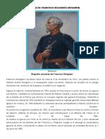 Biografía de Francisco Bolognesi