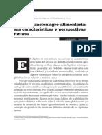Bonanno, Alessandro Globalización Agro-Alimentaria Sus Características y Perspectivas Futuras