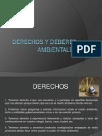Derechos y Deberes Ambientales