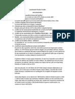Cuestionario Prueba II Medio