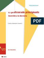 El Profesorado Principiante - inserción a la docencia