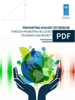Discussion Paper - Preventing Violent Extremism by Promoting Inclusive Development