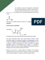 Ácido Carboxílico BIOLOGIA 11vo