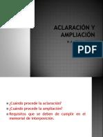 Aclaración y Ampliacion Clase 2
