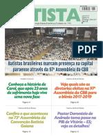O Jornal Batista Nº 18 - 30.04.2017