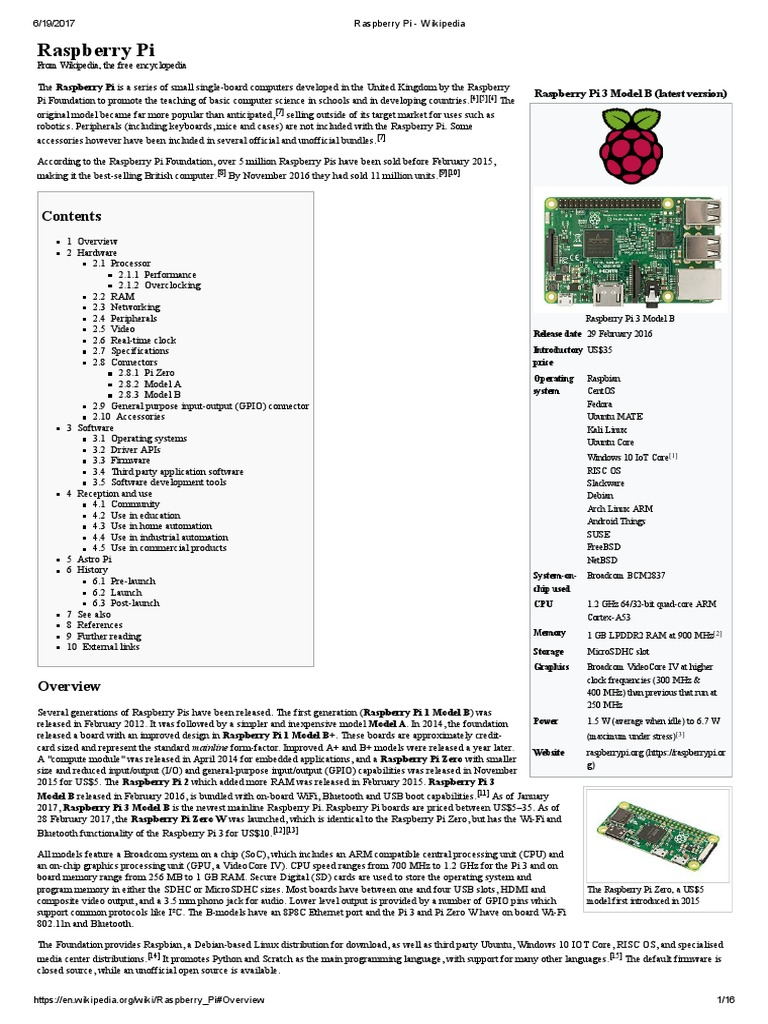 Raspberry Pi Wikipedia Secure Digital Elf Monitor Circuit Diagram Tradeoficcom