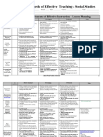SET for Lesson Planning Social Studies - ID