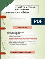 2 - Marco Normativo y Marco Jurídico de Cuidados Paliativos en México