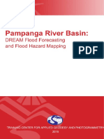 DREAM Flood Forecasting and Flood Hazard Mapping for Pampanga River Basin Baka Lang Magamit Hahaha