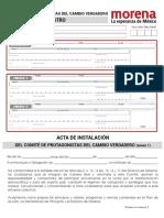 Formato Acta CPCV Comites