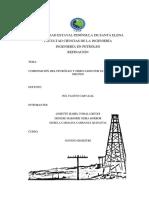 Composición Del Petróleo y Derivados Por Elementos y Por Grupos
