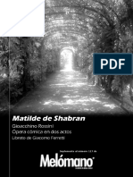 117. G. Rossini - Matilde de Shabran