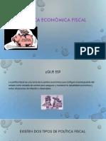 Política Económica Fiscal
