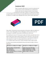 Códigos Para Resistores SMD