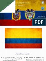Mercados Eléctricos Competitivos en Colombia y Ecuador