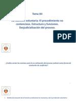 DERECHO PROCESAL CIVIL III - Tema XII(1)