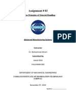 Advanced Manufactuing Assignment