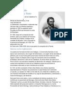 El Adelantado Hernando de Soto