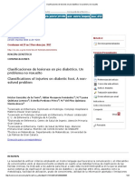 Clasificaciones de lesiones en pie diabético_ Un problema no resuelto.pdf