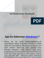 Uji Kekerasan Rockwell