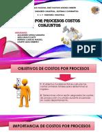Costos Por Procesos Costos Conjuntos Actual