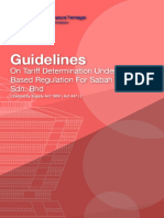 Registered Guidelines on Tariff Determination Under IBR for SESB