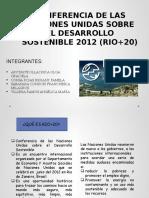 Conferencia de Las Naciones Unidas Sobre El Desarrollo Sostenible